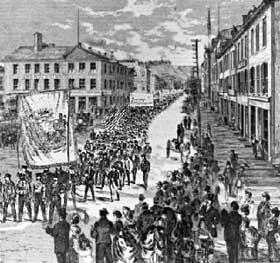 Grève des imprimeurs, Toronto (1872)